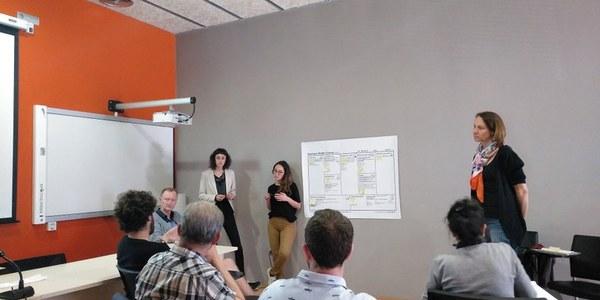El Consorci Grup d'Acció Noguera Segrià Nord participa en la jornada de formació amb el model Canvas