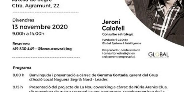 Jornada per a emprenedors/es i pimes de la Noguera al coworking La Nou d'Artesa de Segre