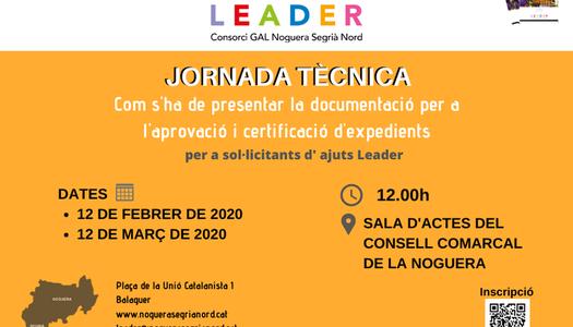 Més d'una trentena de sol·licituds d'ajuts Leader per crear, ampliar i millorar empreses a la Noguera i el Segrià Nord