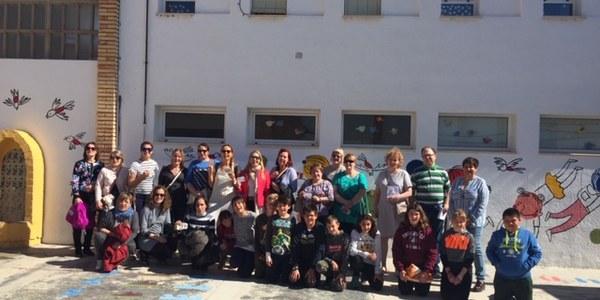 Mestres d'Estònia visiten escoles de Catalunya que cooperen amb el projecte europeu Futurs Emprenedors Rurals